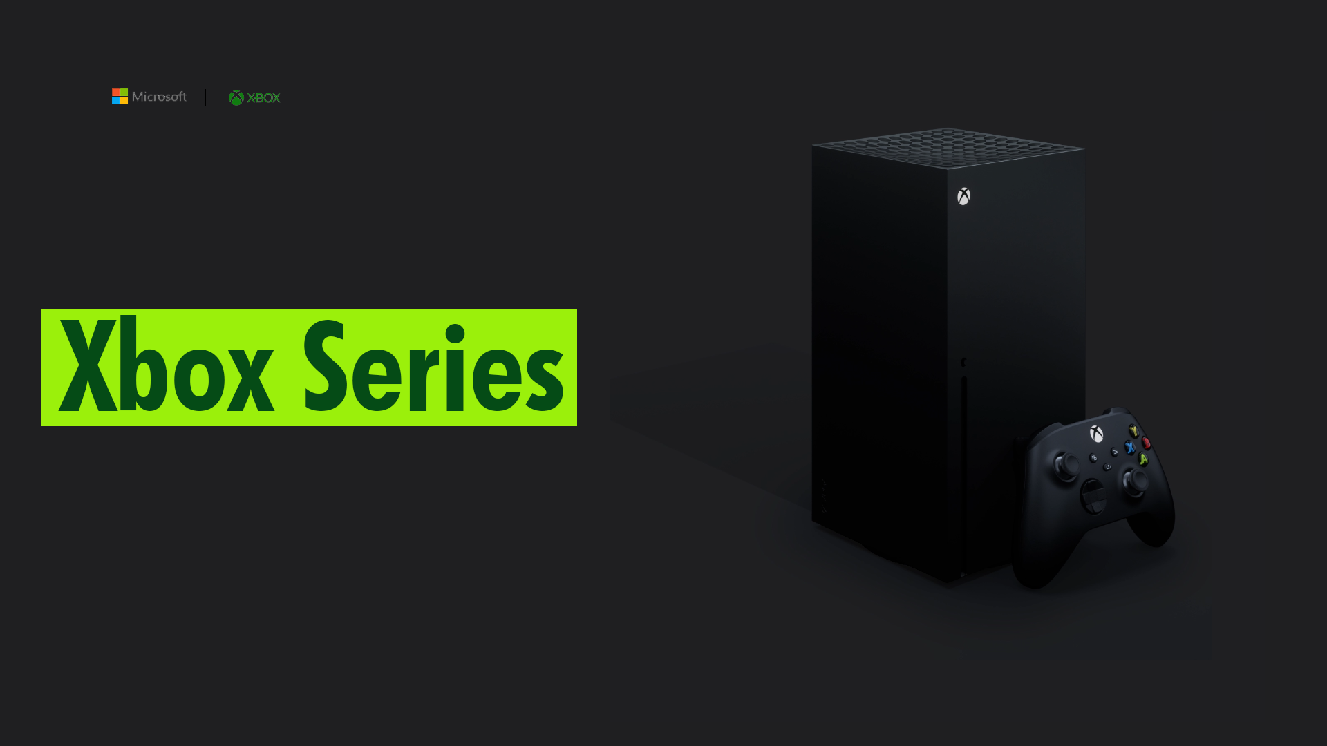 Xbox Series X - Early specification