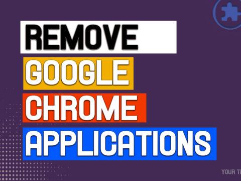 Remove google chrome apps