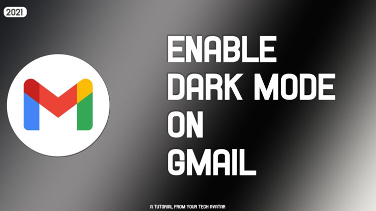 How to enable dark mode on Gmail