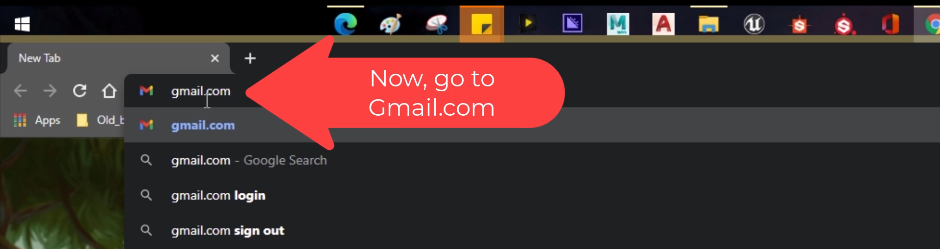 Step_02 How to enable Dark Mode on Gmail