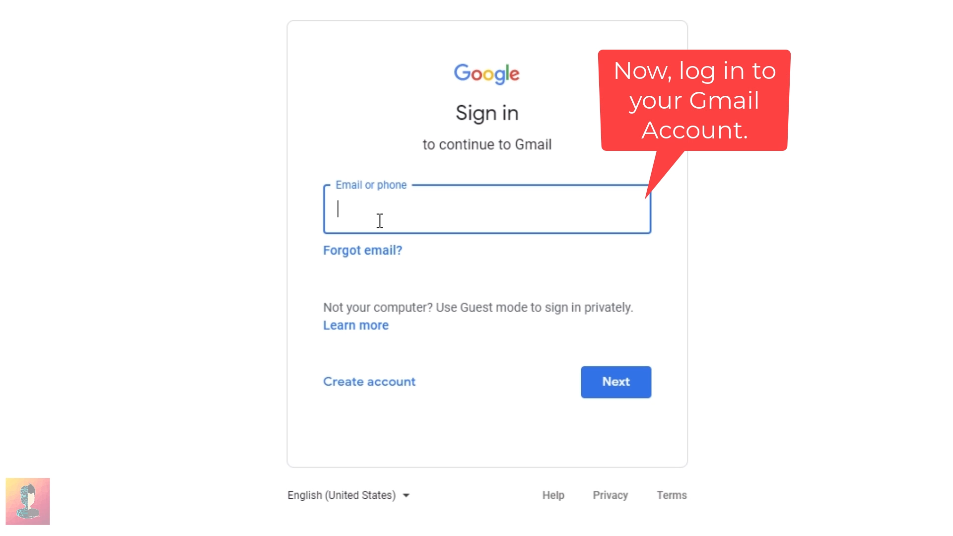 Step_03 How to enable Dark Mode on Gmail