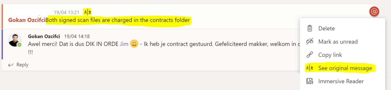 Microsoft Teams Translator